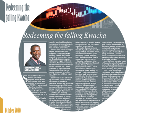 Redeeming the falling Kwacha